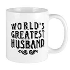 World's Greatest Husband Small Mugs