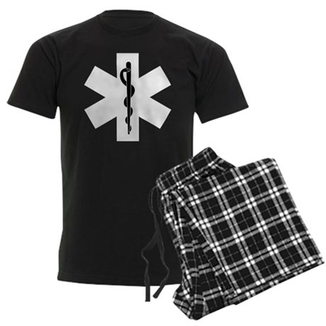EMS Star of Life Men's Dark Pajamas