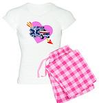 EMS Care Heart Women's Light Pajamas