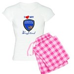 Police Boyfriend Women's Light Pajamas