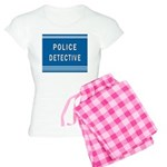 Police Detective Blues Women's Light Pajamas