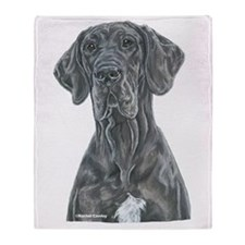 NBlu Portrait Throw Blanket