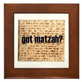 Got Matzah? Framed Tile