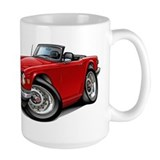 Triumph TR6 Red Car Coffee Mug