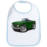 Triumph TR6 Green Car Bib