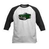 Triumph TR6 Green Car Tee