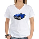 Triumph TR6 Blue Car Shirt