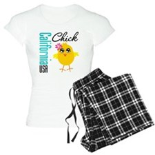 California Chick Pajamas
