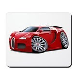 Veyron Red Car Mousepad