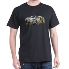 Veyron Gold-Grey Car T-Shirt