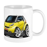 Smart Yellow Car Mug