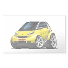Smart Yellow Car Decal