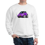 Smart Purple Car Sweatshirt