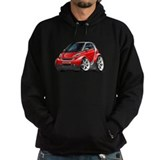 Smart Red Car Hoodie