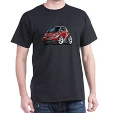 Smart Maroon Car T-Shirt