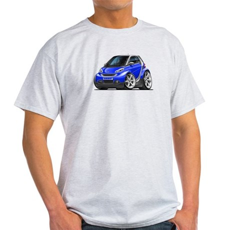 Smart Blue Car Light T-Shirt