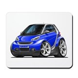 Smart Blue Car Mousepad