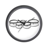 Cute Drumline Wall Clock