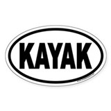 KAYAK Euro Oval Decal