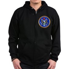 The Great Army SIGINT Seal Zip Hoody