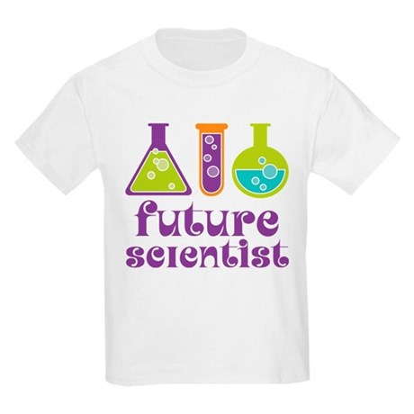 future scientist science t shirt by jobtees