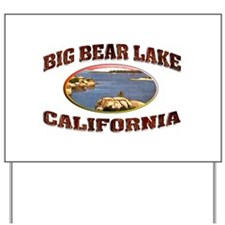 Big Bear Lake Yard Sign