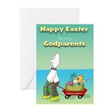 Happy Easter Godparents Cards (Pk of 10)
