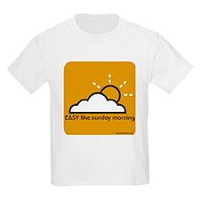 Easy Like Sunday Morning Kids T-Shirt