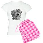Biscuit, Shih Tzu-Terrier Women's Light Pajamas