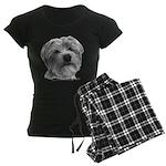 Biscuit, Shih Tzu-Terrier Women's Dark Pajamas