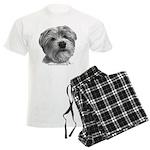 Biscuit, Shih Tzu-Terrier Men's Light Pajamas