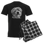 Biscuit, Shih Tzu-Terrier Men's Dark Pajamas