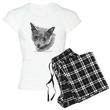 Russian Blue Cat pajamas