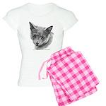 Russian Blue Cat Women's Light Pajamas