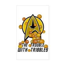 Trouble With Tribbles Bumper Stickers