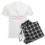 Support - Pink Men's Light Pajamas