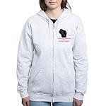 Support - Pink Women's Zip Hoodie