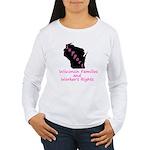 Support - Pink Women's Long Sleeve T-Shirt