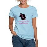 Support - Pink Women's Light T-Shirt