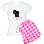 Support - Pink Women's Light Pajamas