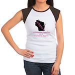 Support - Pink Women's Cap Sleeve T-Shirt