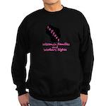 Support - Pink Sweatshirt (dark)