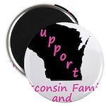 Support - Pink Magnet