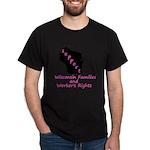 Support - Pink Dark T-Shirt