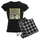 pop psych gifts and t-shirts Women's Dark Pajamas