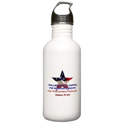 I Rallied - Flag Star Stainless Water Bottle 1.0L