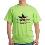 I Rallied - Flag Star Green T-Shirt