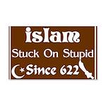 Islam: Stuck On Stupid! Wall Peel