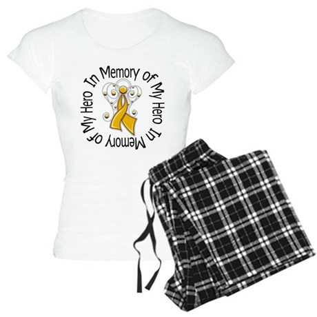 In Memory Appendix Cancer Women's Light Pajamas