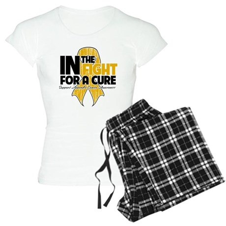 In The Fight Appendix Cancer Women's Light Pajamas